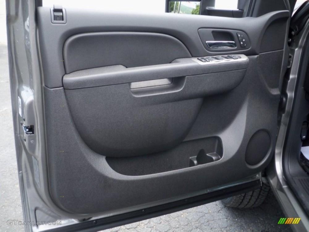 medium resolution of 2012 chevrolet silverado 2500hd ltz crew cab 4x4 ebony door panel photo 68303825