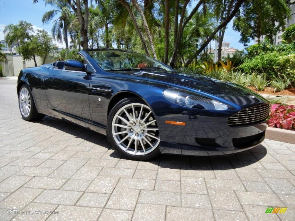 2006 Midnight Blue Aston Martin Db9 Volante #68664826