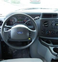 2012 ford e series van e350 xlt passenger medium flint dashboard photo 68713612 [ 1024 x 768 Pixel ]