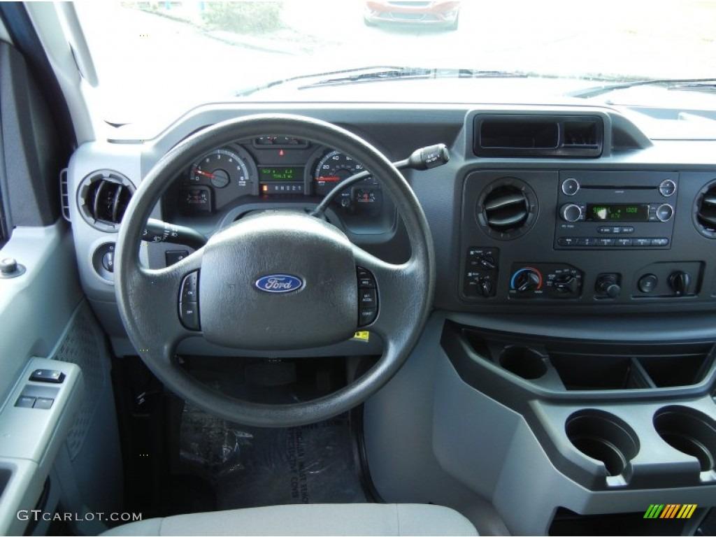 hight resolution of 2012 ford e series van e350 xlt passenger medium flint dashboard photo 68713612