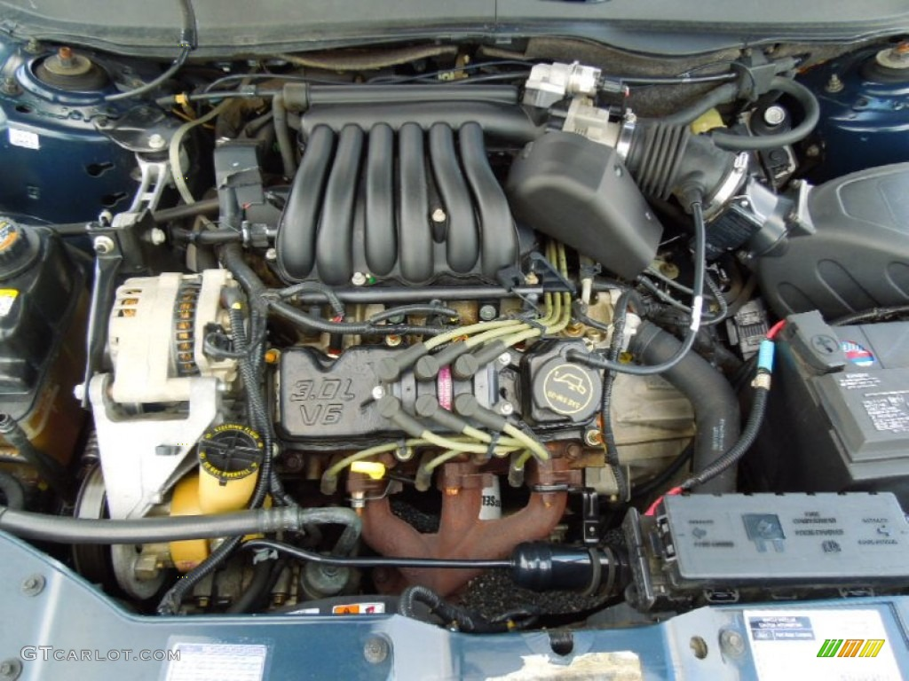 hight resolution of 2001 ford taurus se wagon 3 0 liter ohv 12 valve v6 engine 2000 ford taurus 3 0 engine diagram 2002 ford taurus engine diagram v6 3 0