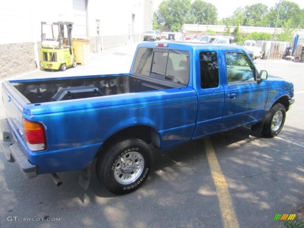 medium resolution of bright atlantic blue metallic ford ranger