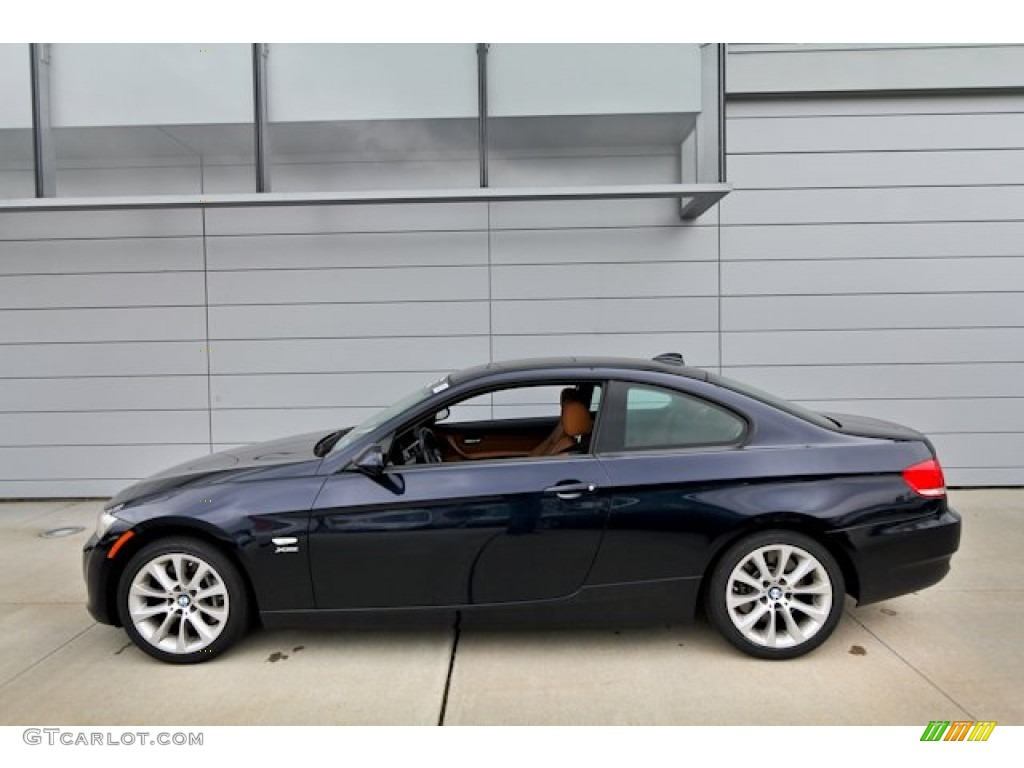 hight resolution of monaco blue metallic 2009 bmw 3 series 335xi coupe exterior photo 69426721