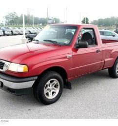 1999 b series truck b2500 se regular cab toreador red metallic gray photo [ 1024 x 768 Pixel ]