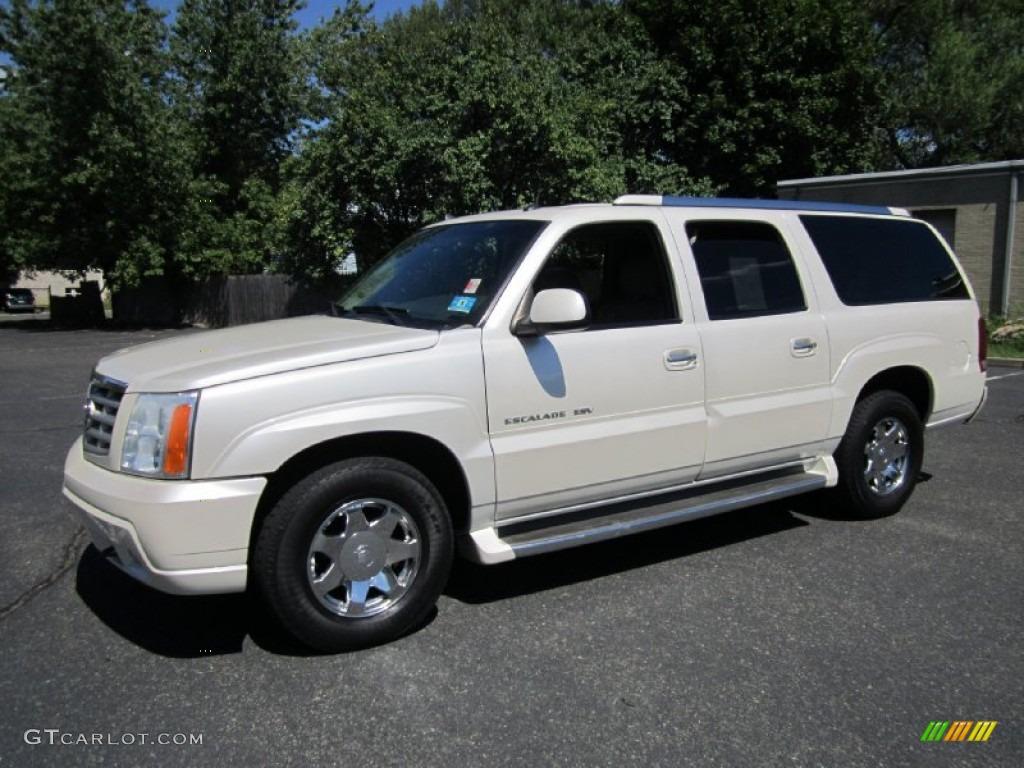 Cadillac Escalade White Diamond