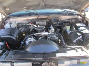1997 Chevrolet CK K1500 Silverado Extended Cab 4x4 Engine