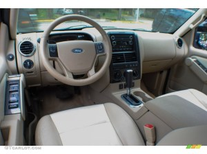 Camel Interior 2010 Ford Explorer XLT 4x4 Photo #71359034
