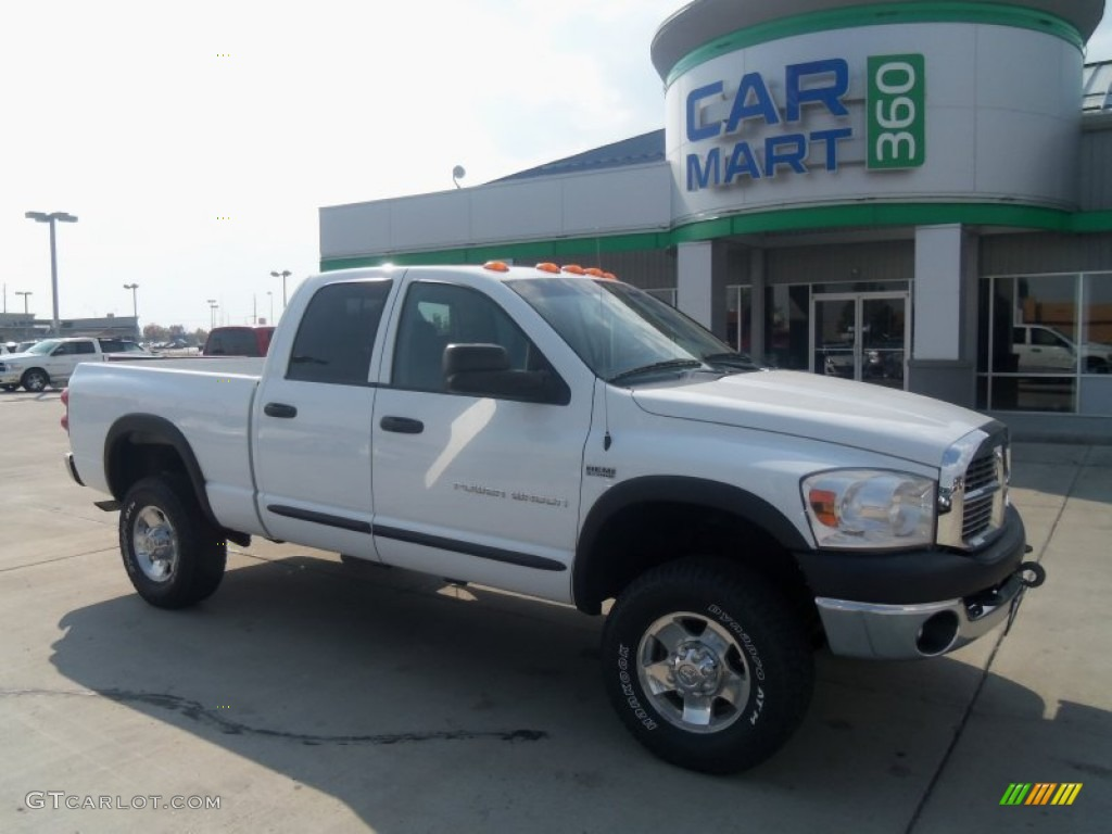 hight resolution of bright white dodge ram 2500