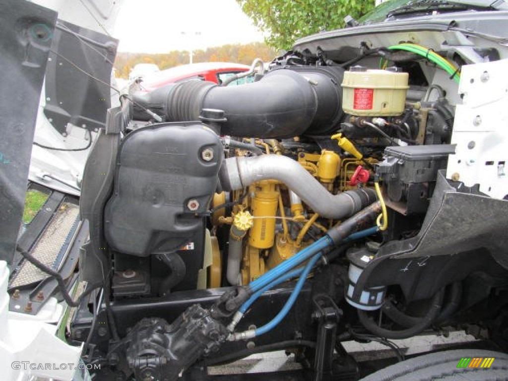 hight resolution of 2008 ford f650 super duty xlt crew cab custom passenger 7 2 liter caterpillar c7 turbo diesel inline 6 engine photo 72322153