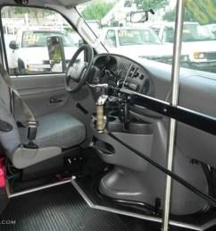 medium flint grey interior 2007 ford e series van e450 super duty passenger bus photo 72406169 [ 1024 x 768 Pixel ]
