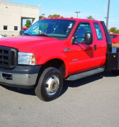 2006 f350 super duty xl supercab 4x4 flatbed red clearcoat medium flint photo  [ 1024 x 768 Pixel ]