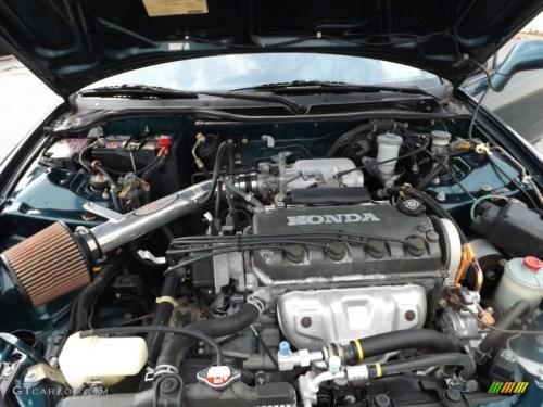 small resolution of 1997 honda del sol si 1 6 liter sohc 16 valve 4 cylinder engine photo