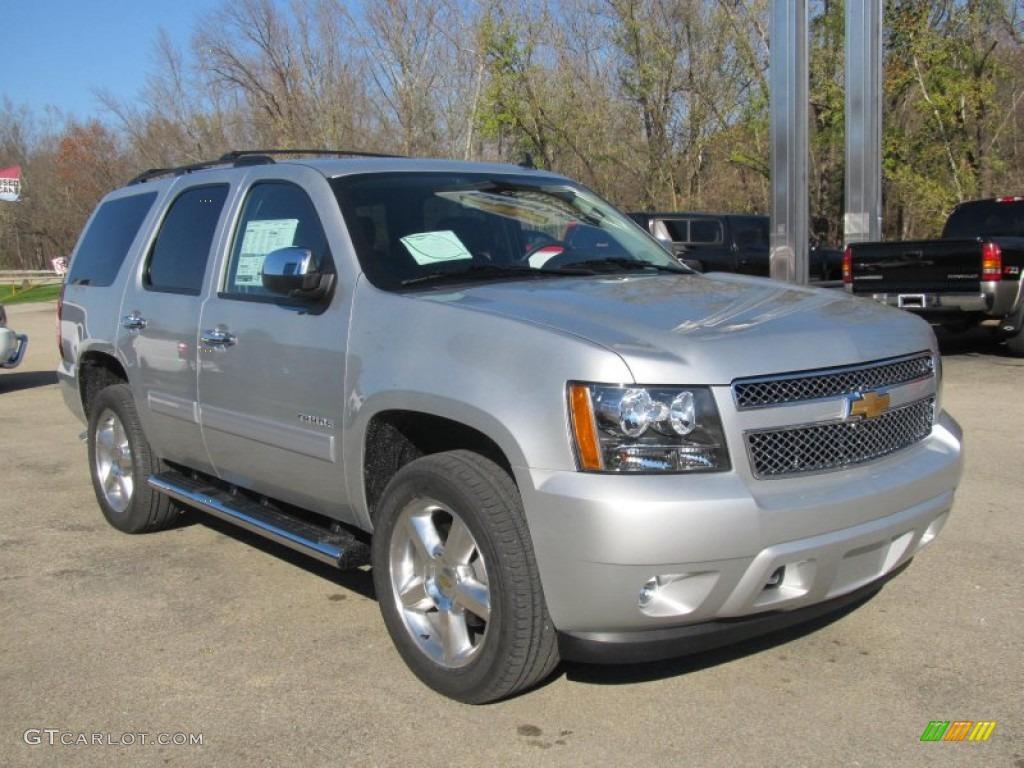 Silver Ice Metallic 2013 Chevrolet Tahoe Ls 4x4 Exterior