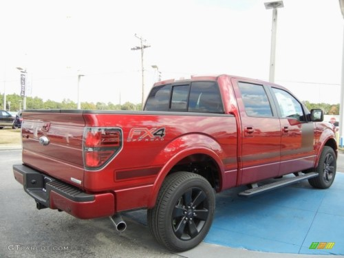 small resolution of 2013 f150 fx4 supercrew 4x4 ruby red metallic fx sport appearance blackred