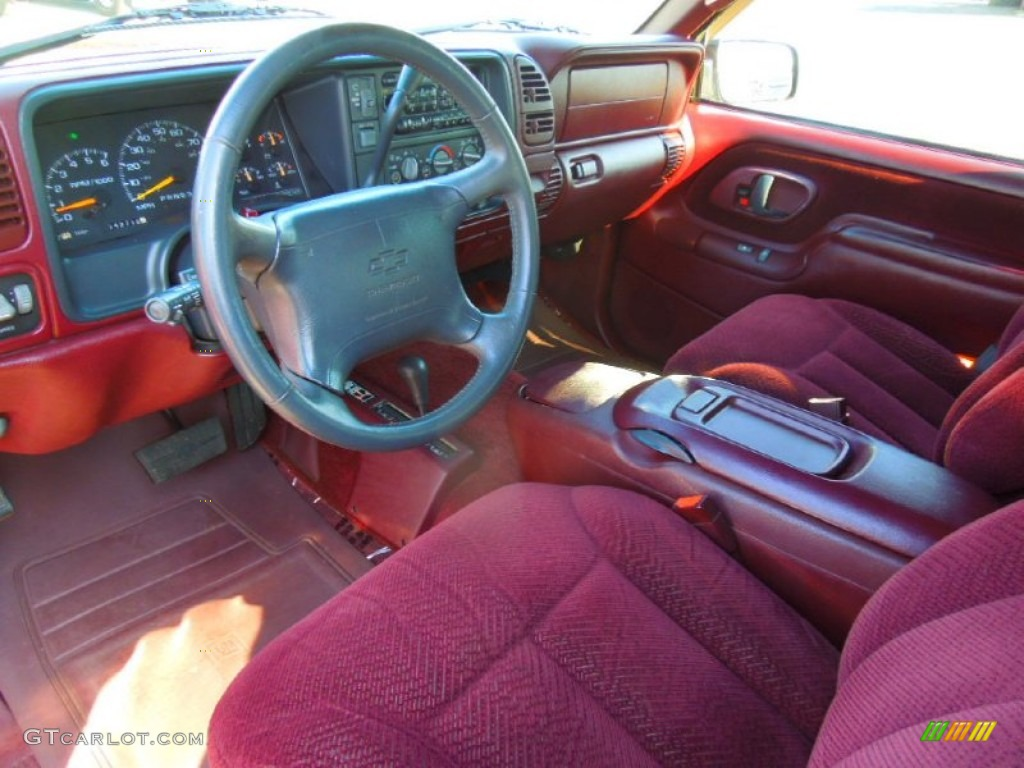 hight resolution of 1997 tahoe ls 4x4 dark cherry metallic red photo 29