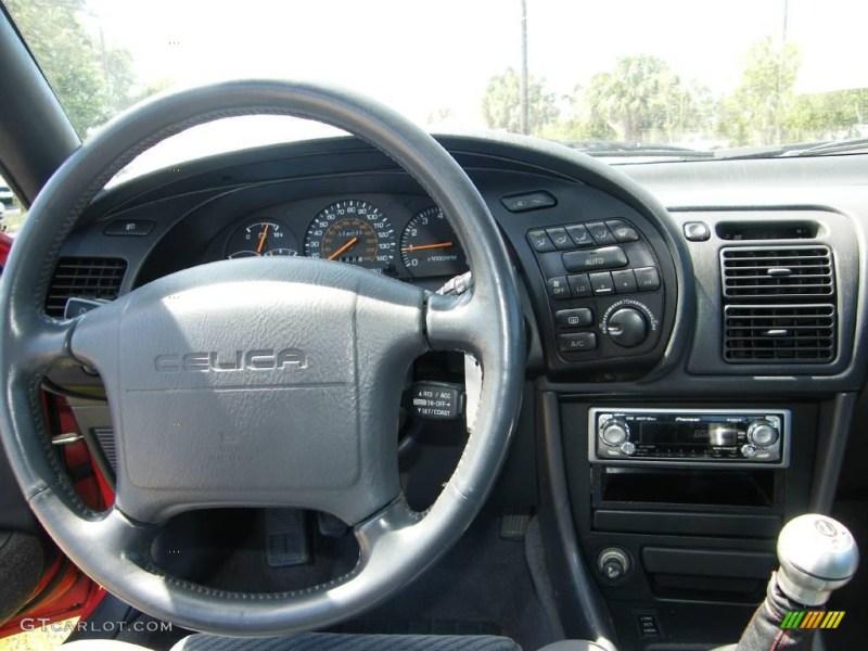 1990 Super Red Toyota Celica Gt S