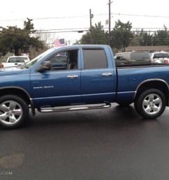 atlantic blue pearl 2004 dodge ram 1500 slt quad cab 4x4 exterior photo 74592071 [ 1024 x 768 Pixel ]