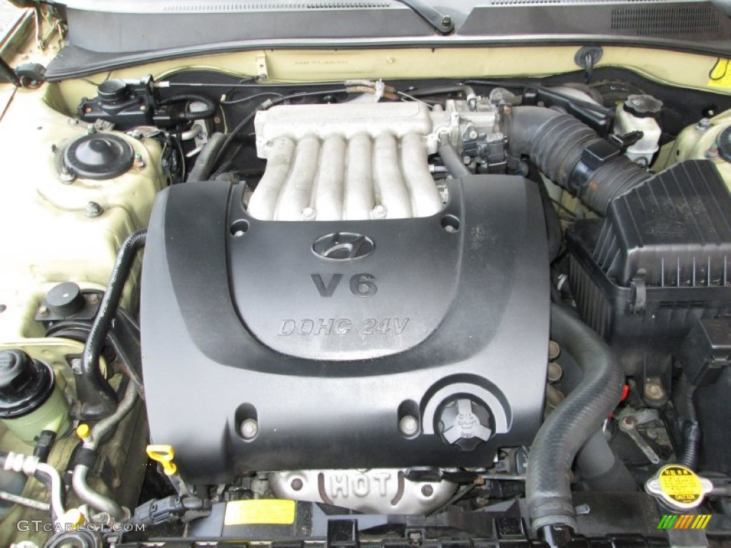 2000 Hyundai Sonata Engine Diagram
