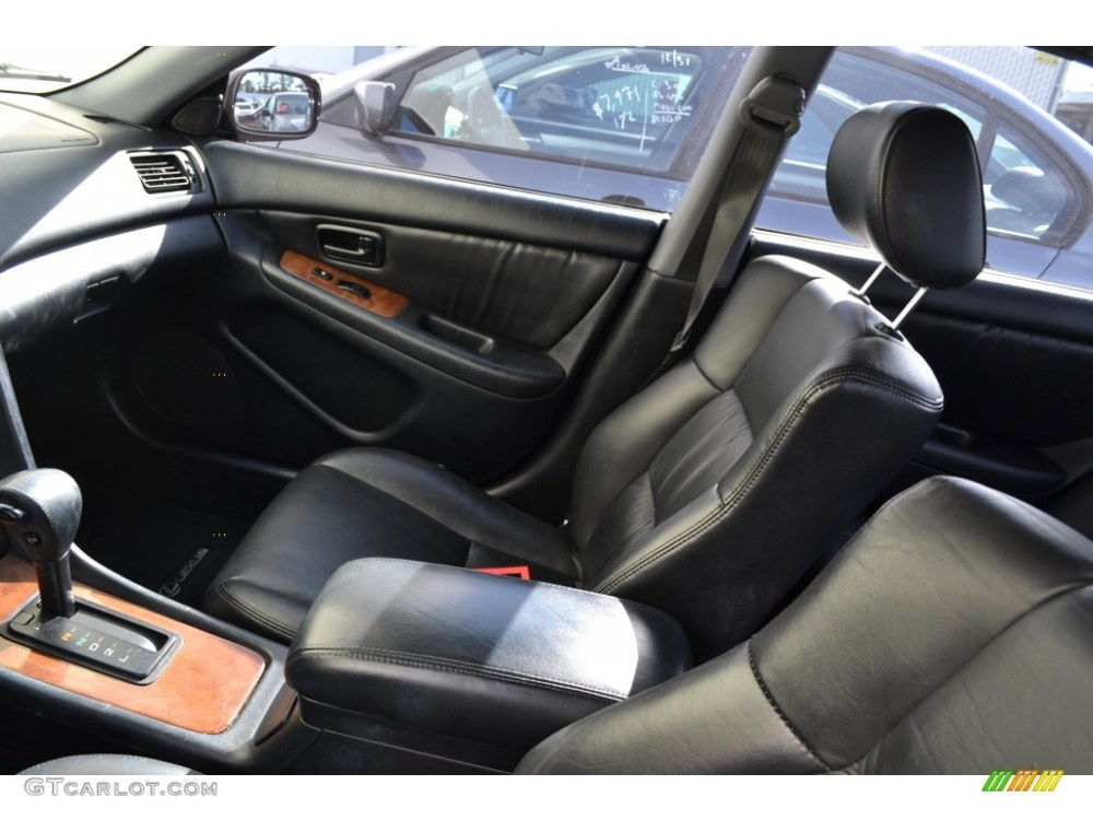 medium resolution of black interior 1998 lexus es 300 photo 75629273