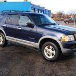 2002 True Blue Metallic Ford Explorer Xlt 4x4 75871264 Gtcarlot Com Car Color Galleries