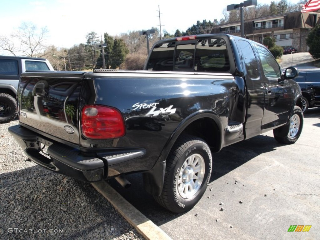 hight resolution of black 2001 ford f150 xl sport supercab 4x4 exterior photo 76645971