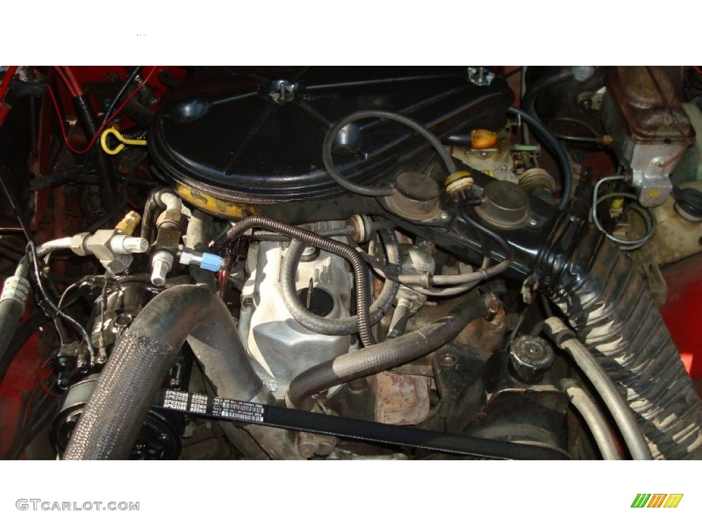 hight resolution of 1988 jeep wrangler laredo 4x4 4 2 liter amc 258 inline 6 engine photo 77063735
