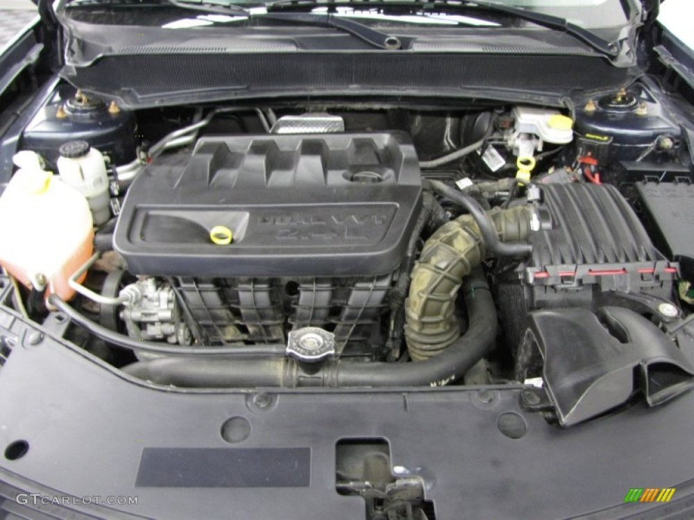 medium resolution of 2008 dodge avenger sxt 2 4 liter dohc 16 valve dual vvt 4 cylinder engine photo 77336241