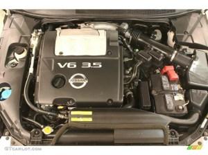 2005 Nissan Maxima 35 SE Engine Photos | GTCarLot
