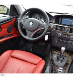 coral red black interior 2008 bmw 3 series 335xi coupe photo 77857134 [ 1024 x 768 Pixel ]