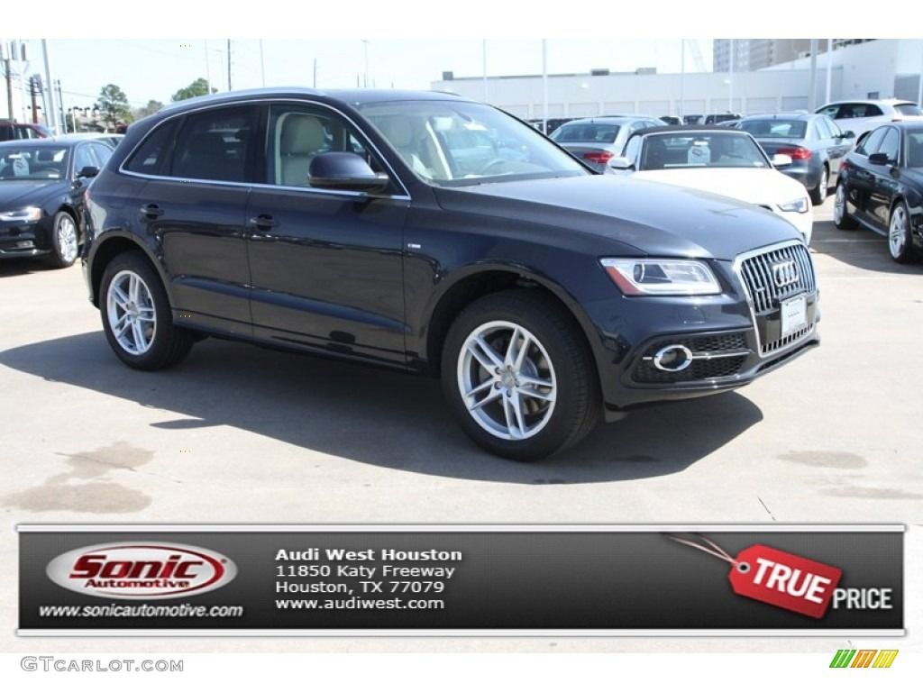 2013 Moonlight Blue Metallic Audi Q5 30 TFSI Quattro