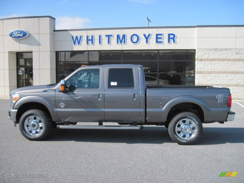 hight resolution of 2013 f350 super duty lariat crew cab 4x4 sterling gray metallic black photo