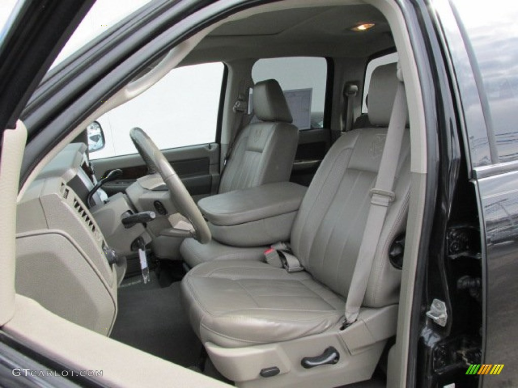 hight resolution of 2008 dodge ram 1500 laramie quad cab 4x4 interior color photos