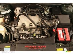 2001 Pontiac Grand Am GT Coupe Engine Photos | GTCarLot