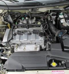 2003 mazda protege lx 2 0 liter dohc 16 valve 4 cylinder motor diagram on 2003 mazda protege 2 0 mazda protege wiring diagram [ 1024 x 768 Pixel ]