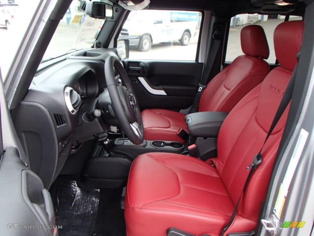 Jeep Red Interior