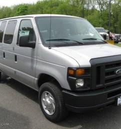 ingot silver metallic ford e series van [ 1024 x 768 Pixel ]