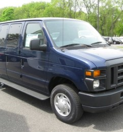 dark blue pearl ford e series van [ 1024 x 768 Pixel ]