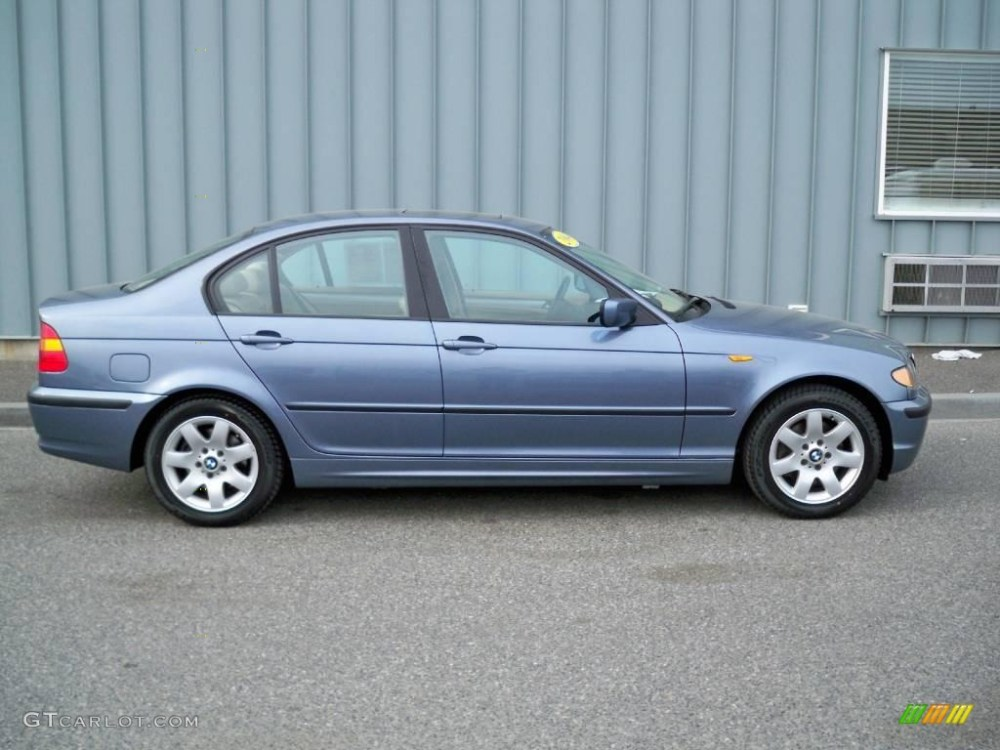 medium resolution of 2004 3 series 325i sedan steel blue metallic sand photo 2