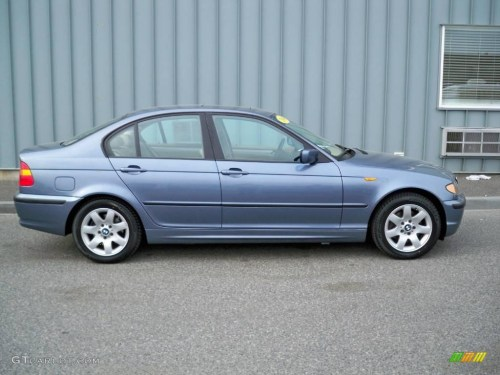 small resolution of 2004 3 series 325i sedan steel blue metallic sand photo 2