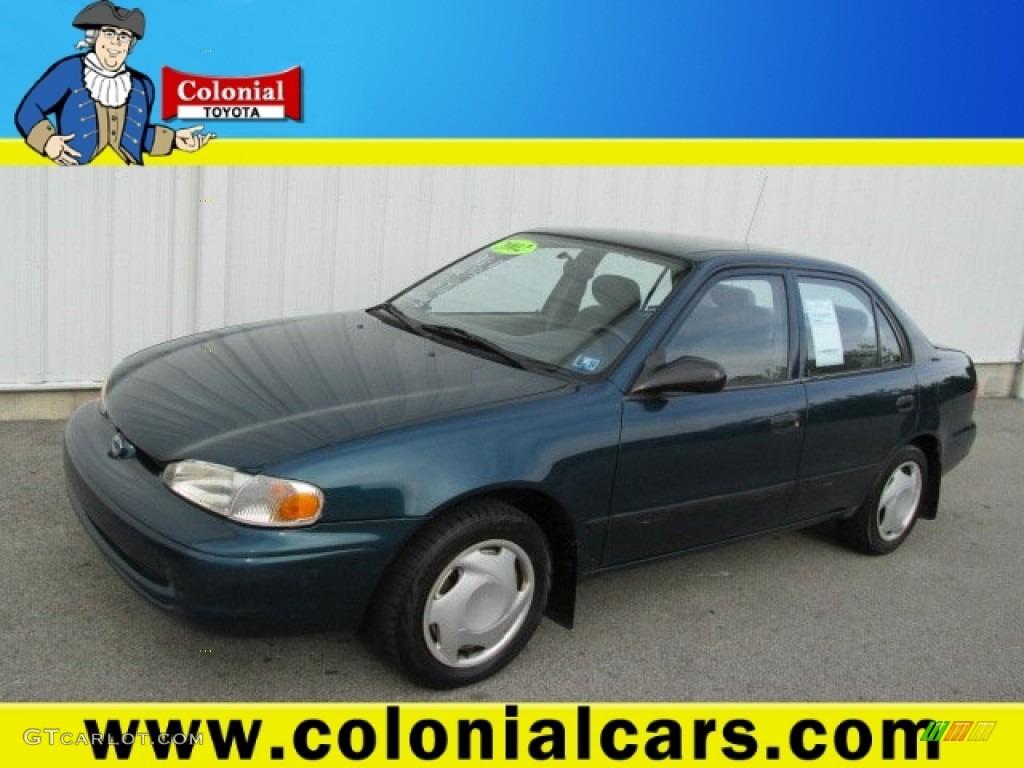 hight resolution of 2002 dark blue green metallic chevrolet prizm 81685501