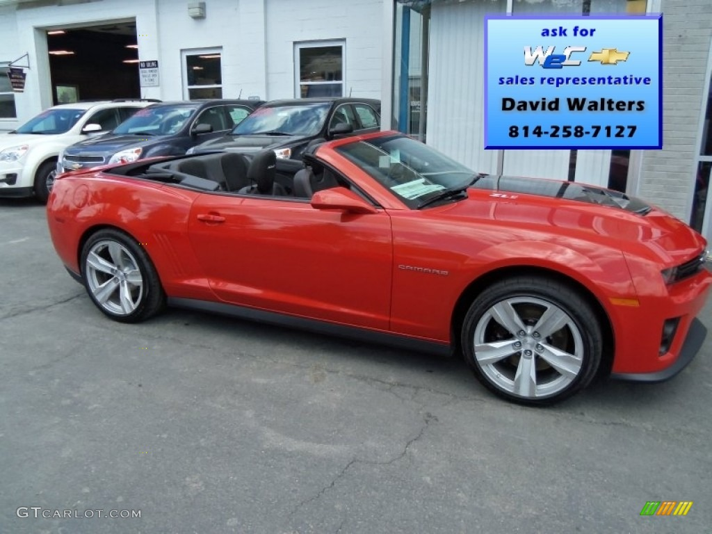 Red Rock Zl1 Convertible Chevrolet