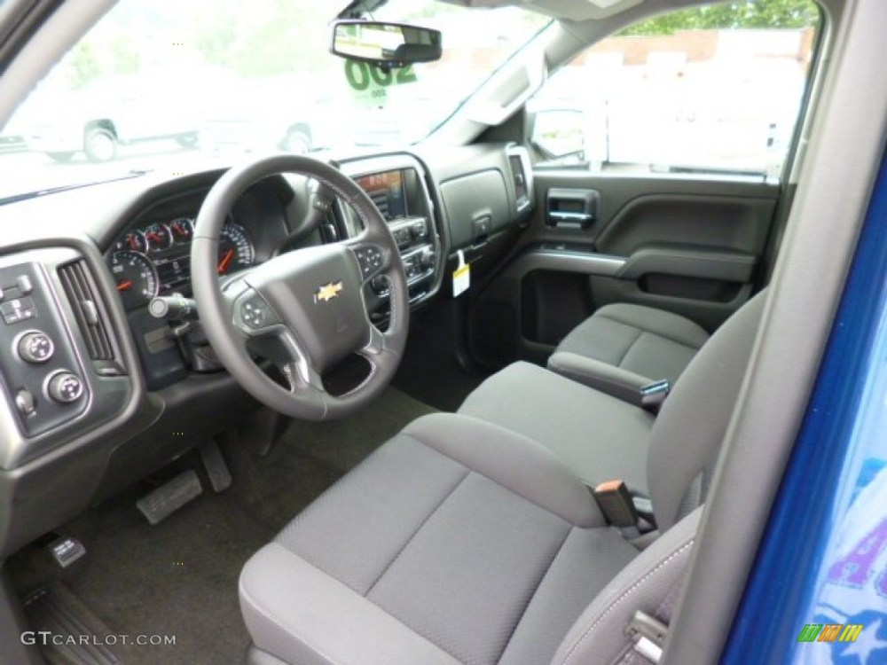 medium resolution of jet black dark ash interior 2014 chevrolet silverado 1500 lt crew cab 4x4 photo 82318526