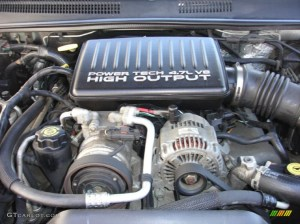 2003 Jeep Grand Cherokee Overland 4x4 47 Liter SOHC 16Valve V8 Engine Photo #82527758