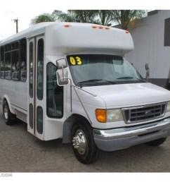 2003 f450 super duty passenger bus oxford white medium flint photo 1 [ 1024 x 768 Pixel ]
