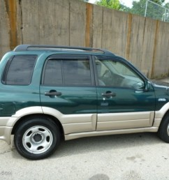 grove green metallic 2002 suzuki grand vitara jlx 4x4 exterior photo 83160862 [ 1024 x 768 Pixel ]