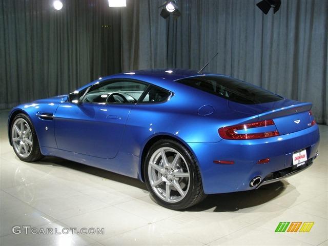 2007 Vertigo Blue Aston Martin V8 Vantage Coupe #83633