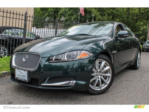 small resolution of british racing green metallic jaguar xf