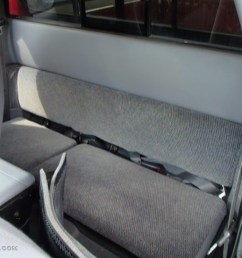 1998 dodge dakota sport extended cab 4x4 rear seat photo 84492924 [ 1024 x 768 Pixel ]