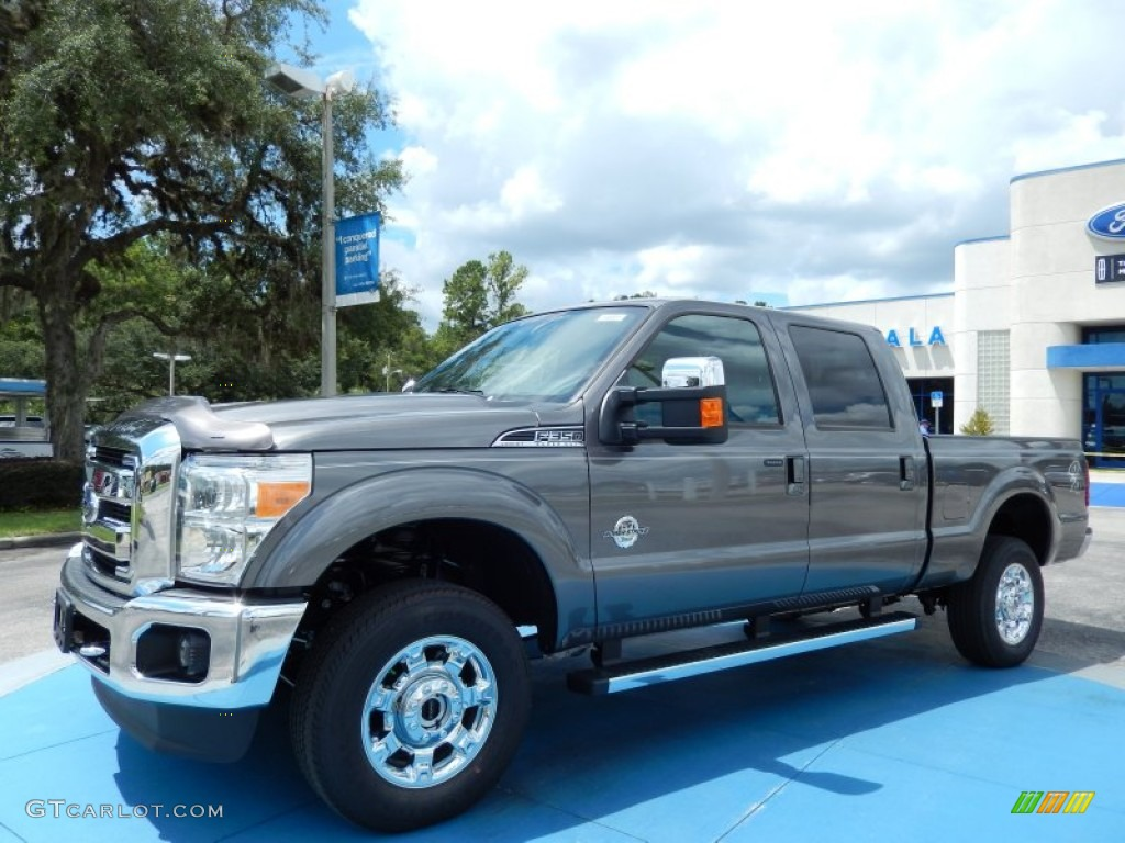 hight resolution of sterling gray metallic ford f350 super duty