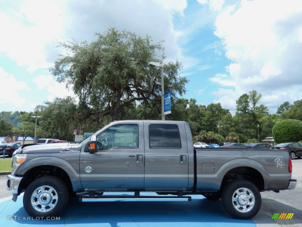 hight resolution of 2014 f350 super duty lariat crew cab 4x4 sterling gray metallic black photo